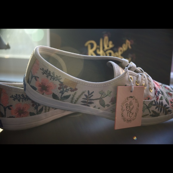 ca2ea024047 NEW Keds x Rifle Paper Co Champion Herb Garden